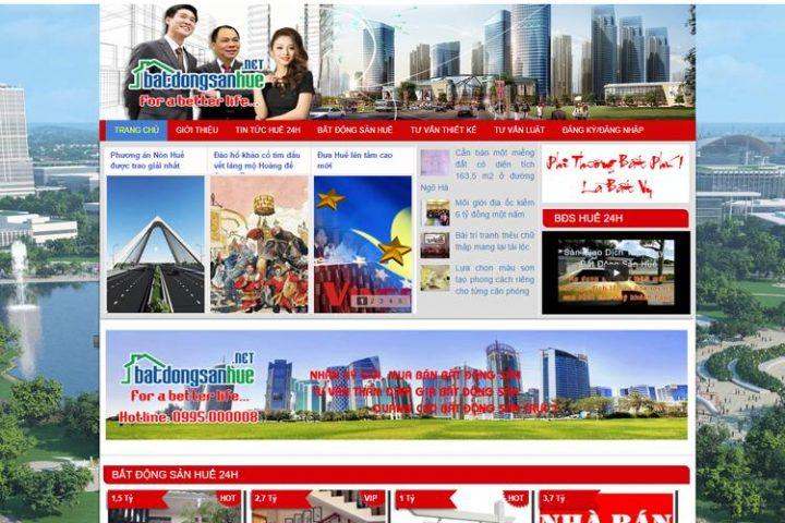 bat dong san hue, thiết kế web nhà đất, website bất động sản, website công ty, website quảng cáo, thiết kế website đà nẵng, web gia re, thiết kế trọn gói, web công ty, web tại huế, web đẹp