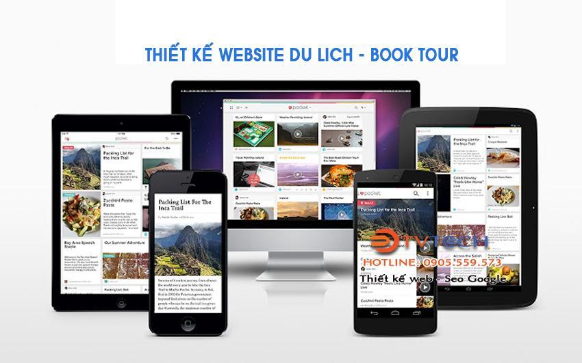 Thiết kế web tour du lich