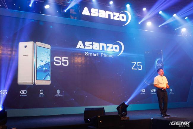 ASanzo ra mắt sản phẩm smartphone thương hiệu VIệt