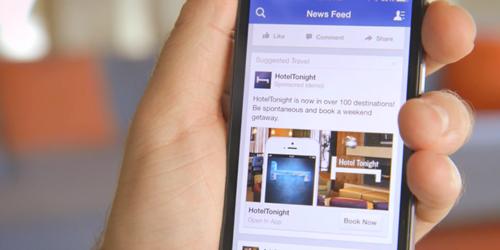 Quảng cáo Facebook - nguồn doanh thu chính của Mark
