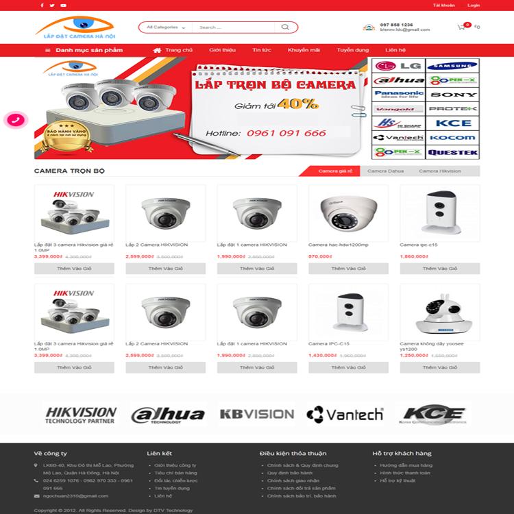 Giao-diện-website-camera-Hà-Nội