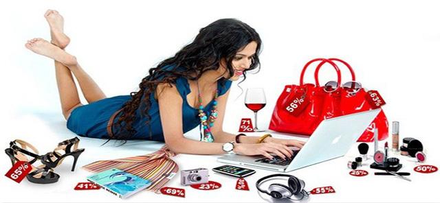 Chỉ cần có Internet, khách ở đâu cũng có thể mua hàng