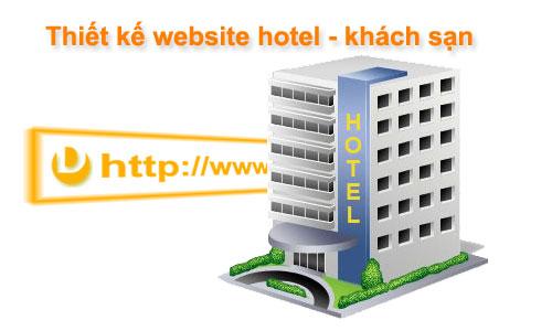 Thiết kế web khách sạn 1