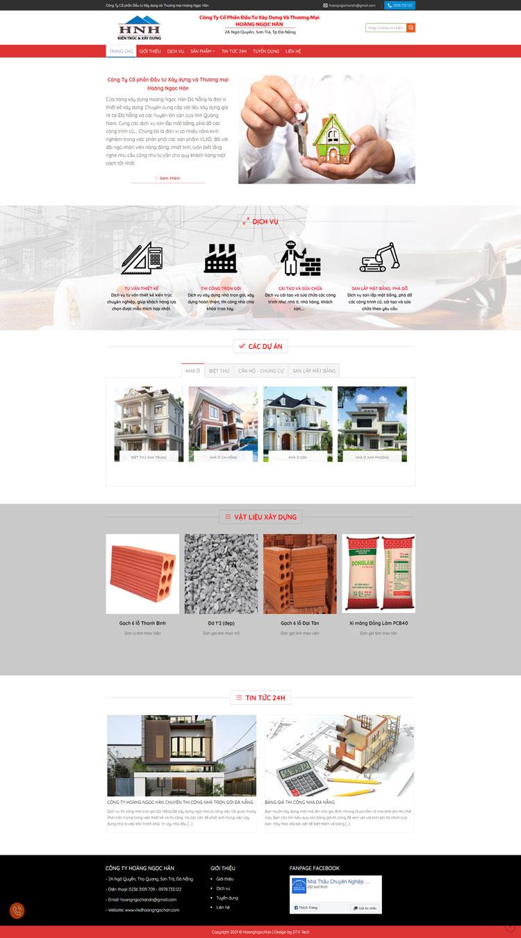 Công ty xây dựng Hoàng Ngọc Hân