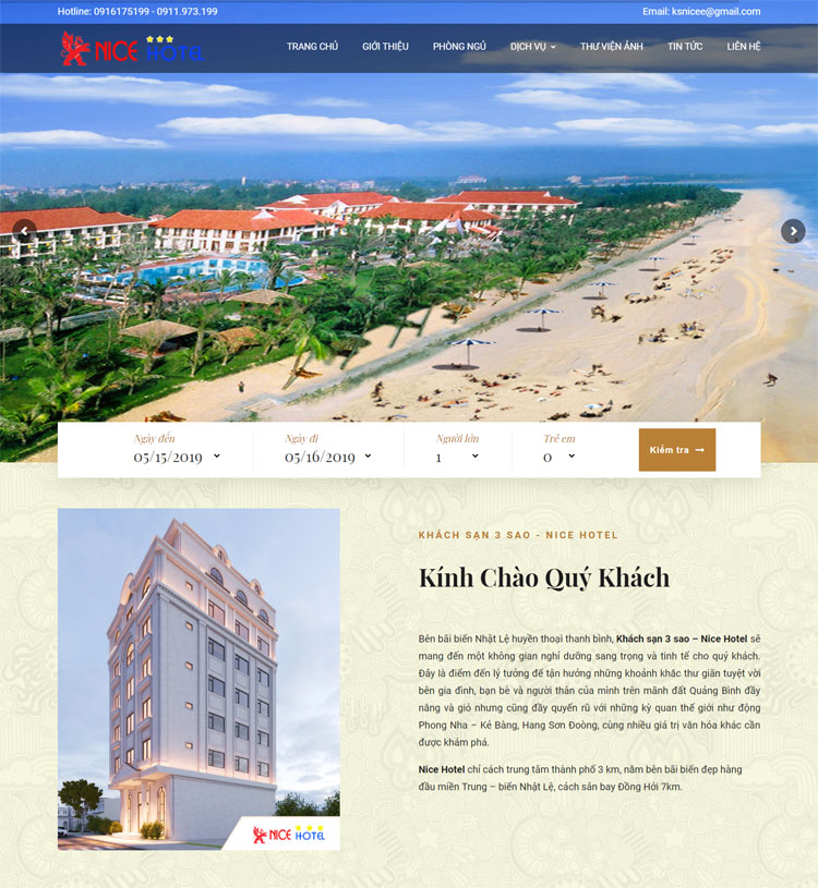 Khách sạn Nice Quảng Bình