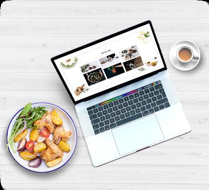 Giao diện Website nhà hàng đẹp mắt nhưng mà đơn giản
