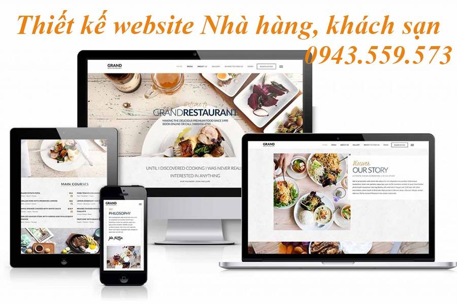 Thiết-kế-website-nhà-hàng
