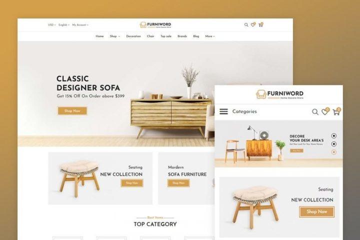 Thiết kế web nội thất Đà nẵng