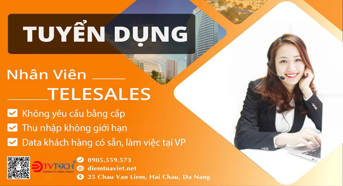 Tuyển dụng nhân viên kinh doanh online tại Đà Nẵng
