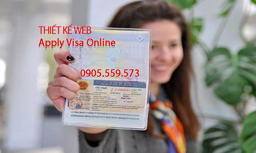 Web apply visa Viet nam online